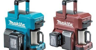 Кофеварка Makita в индустриальном стиле