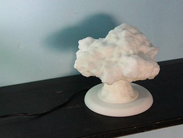Настольная лампа «Ядерный грибок»