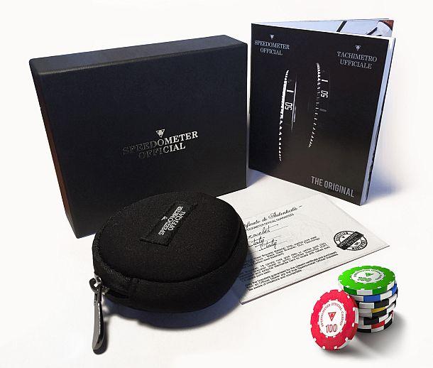 Стальной браслет Casino от Speedometer Official