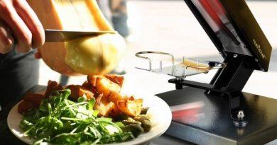 Электрическая раклетница для приготовления плавленного сыра