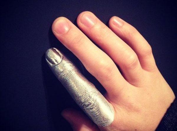Украшение для рук «Серебряный палец»