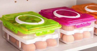Двухуровневый контейнер для 24 яиц
