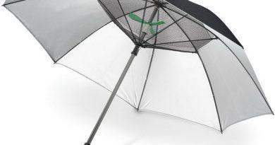 Зонтик для защиты от солнца со встроенным вентилятором Fanbrella