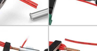 Насадка для автоматической зачистки скручивания проводов