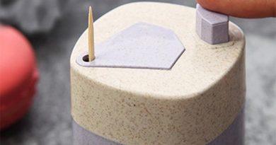 Контейнер для зубочисток с полуавтоматической подачей