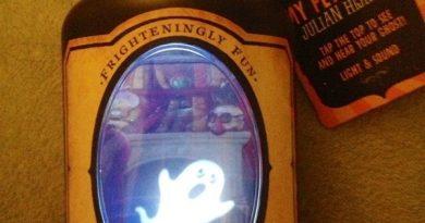 Домашний призрак в бутылке
