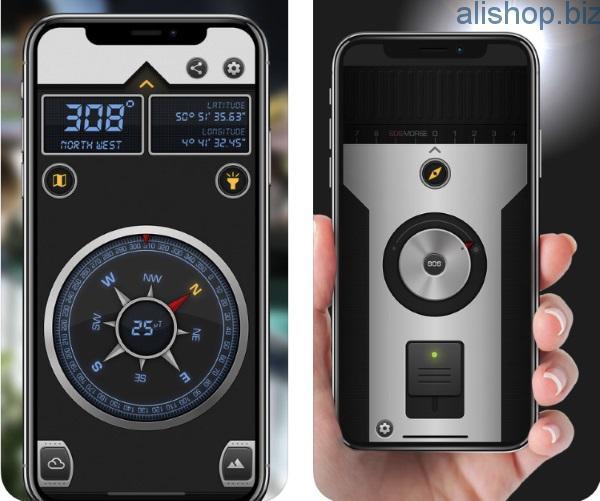 Compass X — продвинутое приложение для туристов