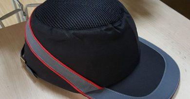 Рабочая кепка с защитным каркасом