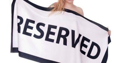 Пляжное полотенце Reserved