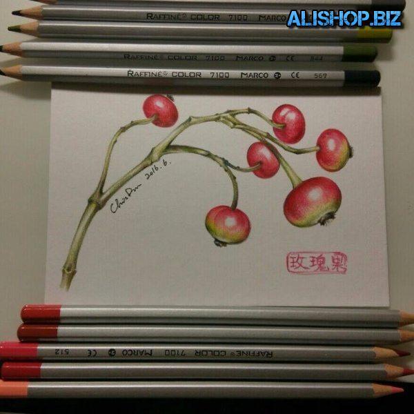 Набор художника из 72 цветных карандашей
