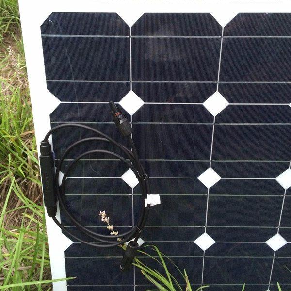Гибкая солнечная панель на 100 Вт