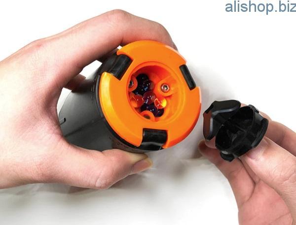 Игрушечная граната с водяными шариками