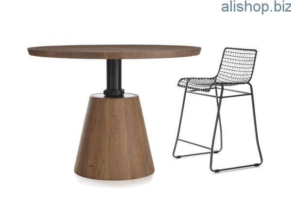 Обеденный столик и изменяемой высотой Revolve