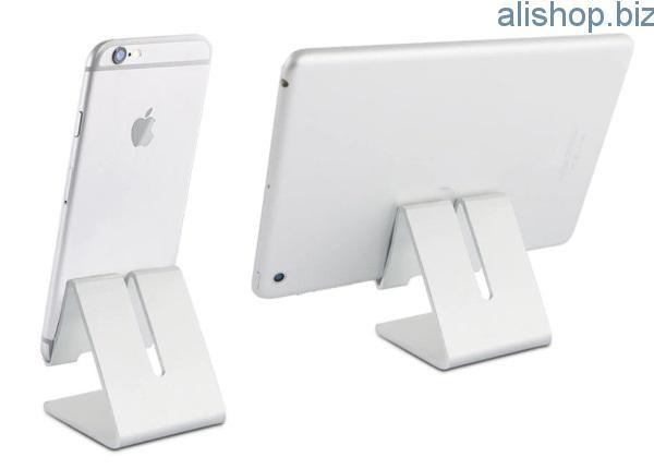 Алюминиевая подставка для смартфонов