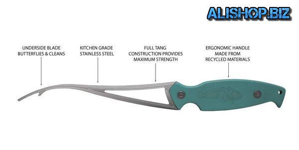 Нож для быстрой чистки креветок Frogmore