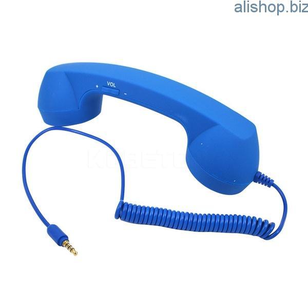 Проводная гарнитура в виде телефонной трубки