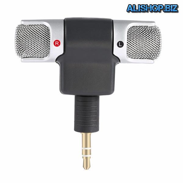 Миниатюрный микрофон для ноутбука