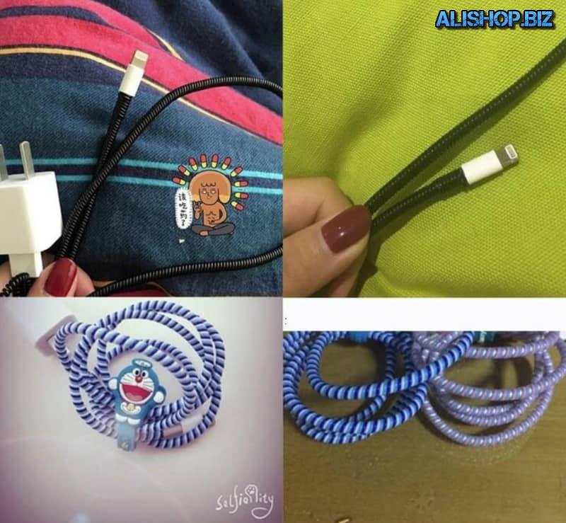 Декоративные нити для оплётки кабелей