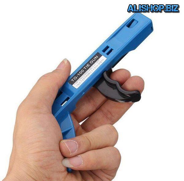 Инструмент для затягивания пластиковых стяжек