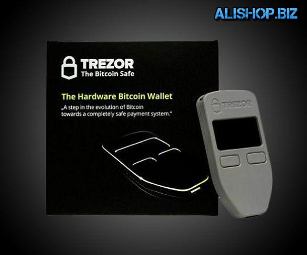 Безопасный кошелек для хранения и операций с биткоинами Trezor