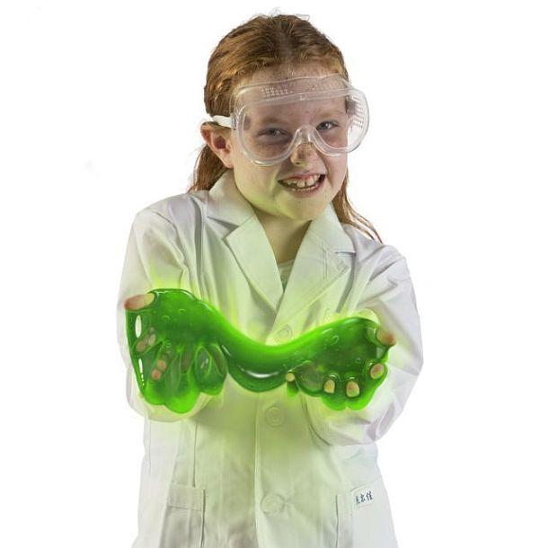 Светящиеся в темноте лизуны-слаймы Dr. Cool