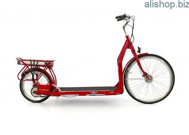 Прогулочный велосипед Lopifit со встроенной беговой дорожкой