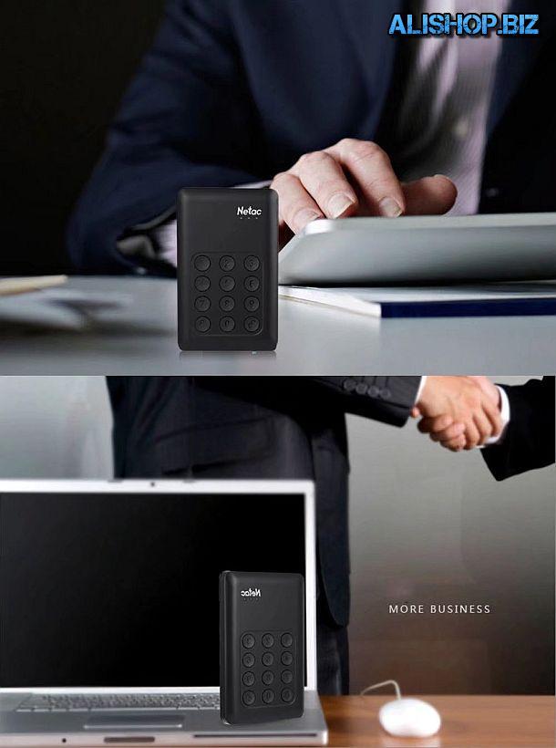Внешний USB 3.0 накопитель Netac K390