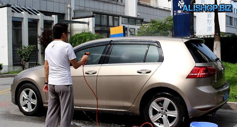 Минимойка для мытья автомобиля 12 вольт