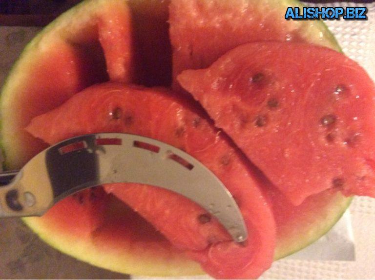 Обзор Ножа для нарезки арбуза купленного на Алиэкспресс