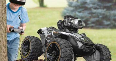 Наземный 4-колёсный дрон Silverlit с FPV-камерой