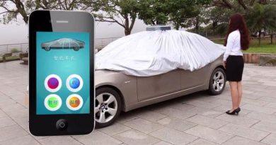 Автоматический чехол для защиты автомобиля Favo