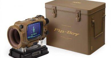 Реплика компьютера-браслета Pip-Boy из Fallout
