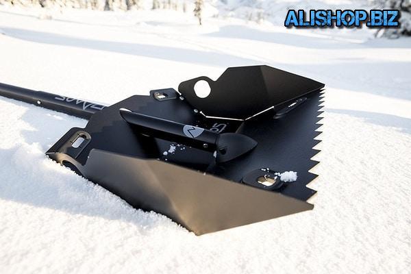 Лопата для уборки снега со встроенным ледоломом DMOS Alpha