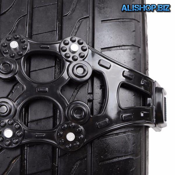 Антипробуксовочные насадки для колёс