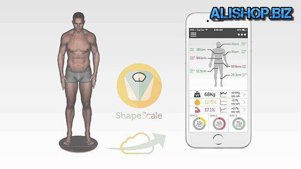 3D сканер тела ShapeScale