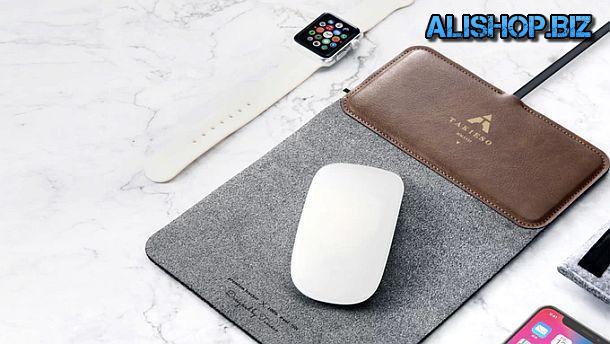 Многофункциональный коврик для компьютерной мышки MousePad+