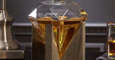 Графин-декантер для алкогольных напитков «Бриллиант»