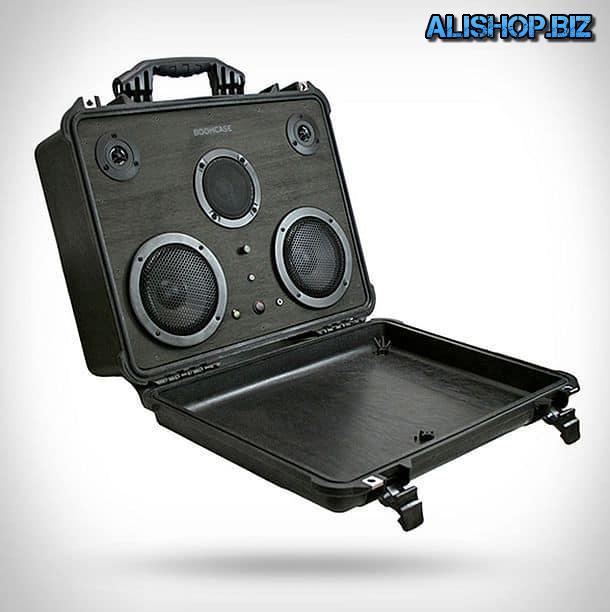 Суперпрочная акустическая система-чемодан Pelican Boomcase