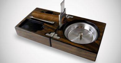 Складной набор для курения сигар