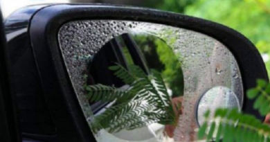 Наклейка антидождь для зеркал заднего вида