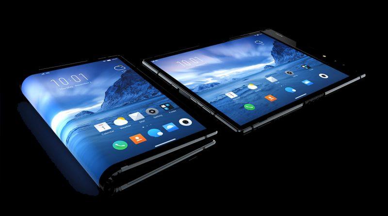 Первый смартфон со складным экраном Royole FlexPai