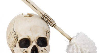 Туалетный ершик в виде скелета Skullduggery