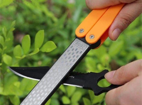 Переносная точилка для ножей и ножниц