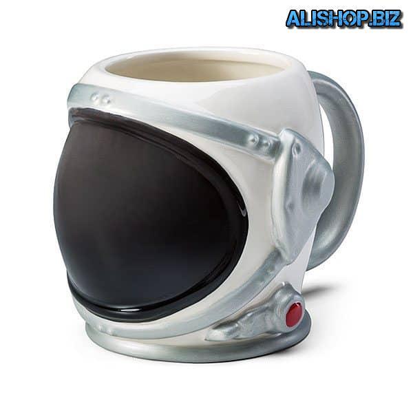 Кружка в виде космического шлема
