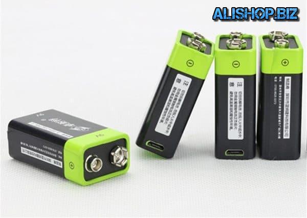 Литиевый аккумулятор в формате батарейки «Крона»