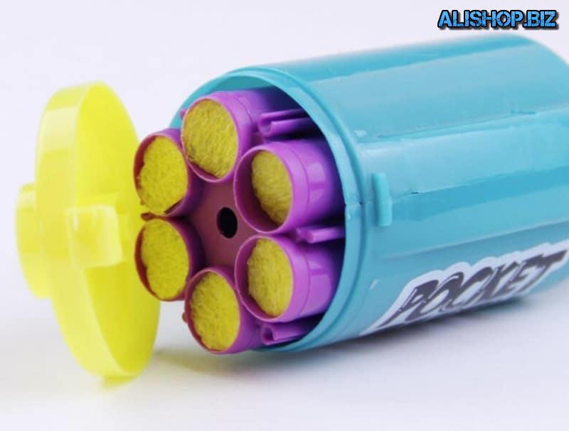 Детский пистолет для конфетти