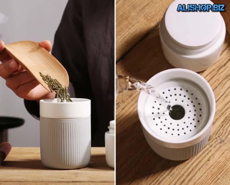 Переносной набор для приготовления чая