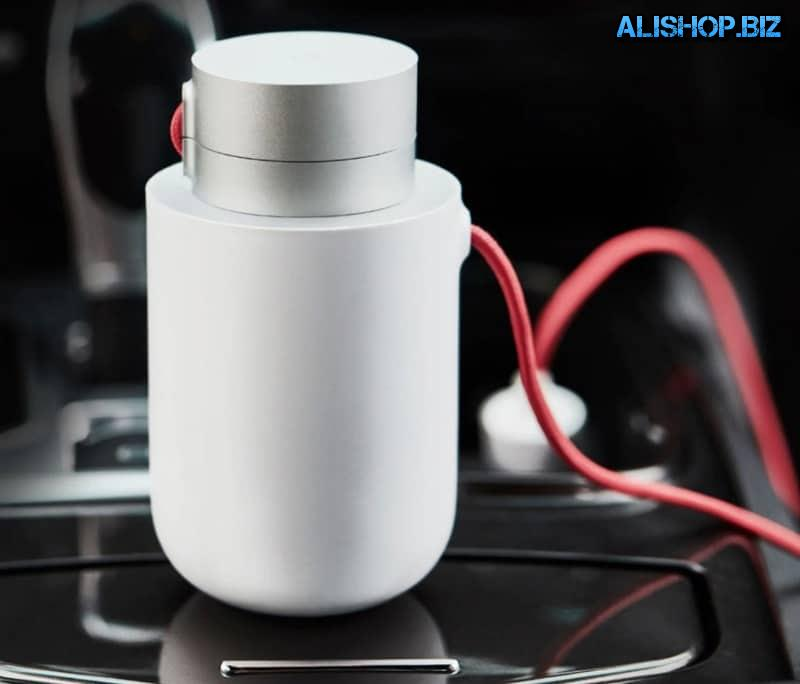 Автомобильный инвертор на 100Вт от Xiaomi