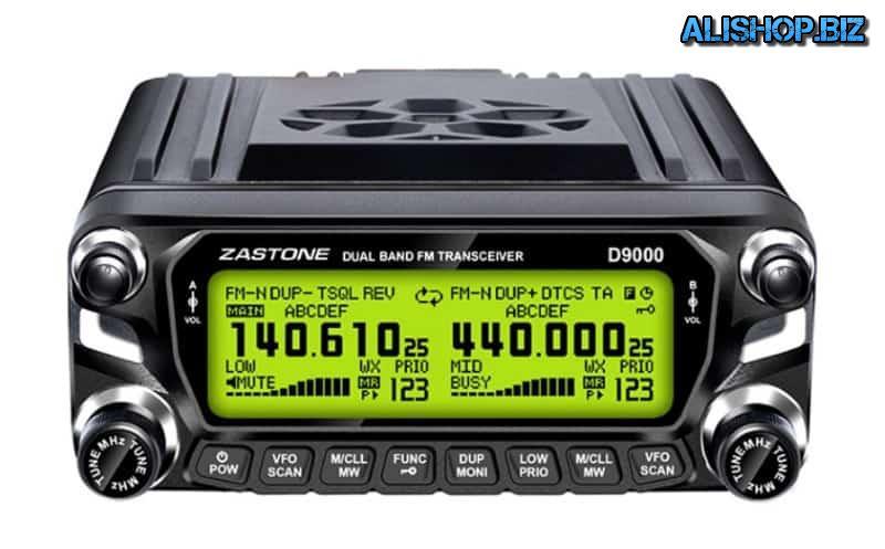 Рация для установки в автомобиль ZASTONE D9000