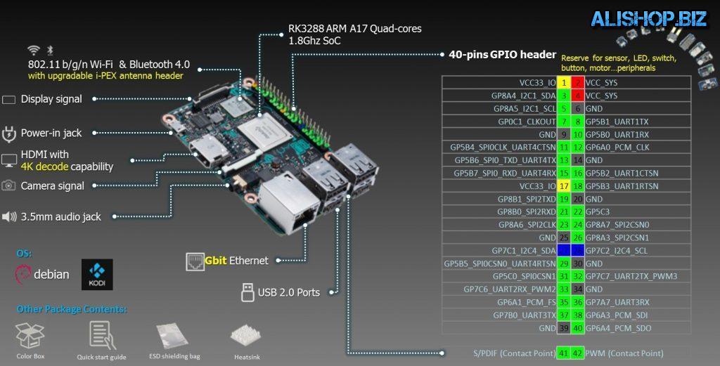 Одноплатный ПК - Asus Tinker Board